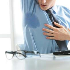 הזרקת בוטוקס לטיפול בהזעת יתר